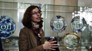 Présentation des céramiques du Musée des Beaux Arts de Lille par Fleur Morfoisse et Edward Williamson.